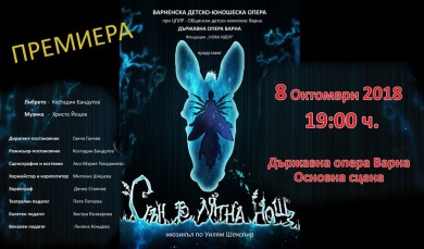 Сън в лятна нощ - детски мюзикъл от Александър Йоцов