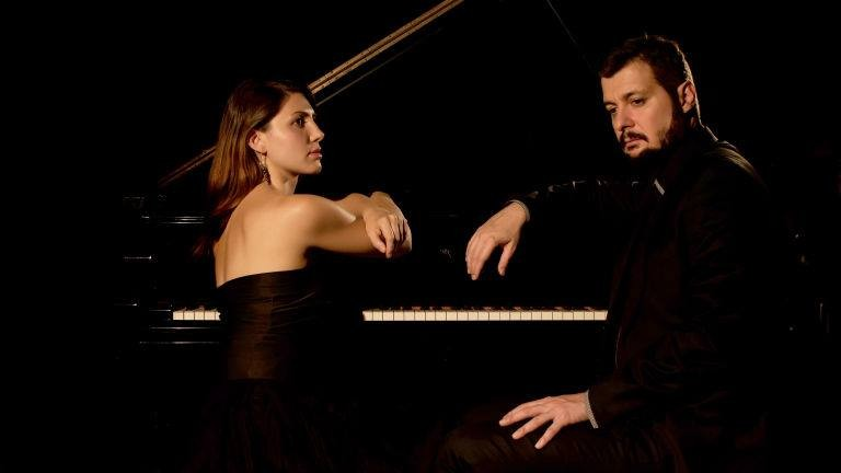Концерт на клавирно дуо Йорданова - Кюркчиев